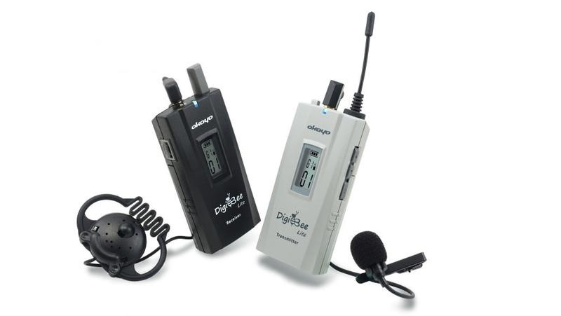 599導覽專賣店 台灣製造 OKAYO 新款 DigiBee 旅遊專用 無線導覽機 Tour Guide System
