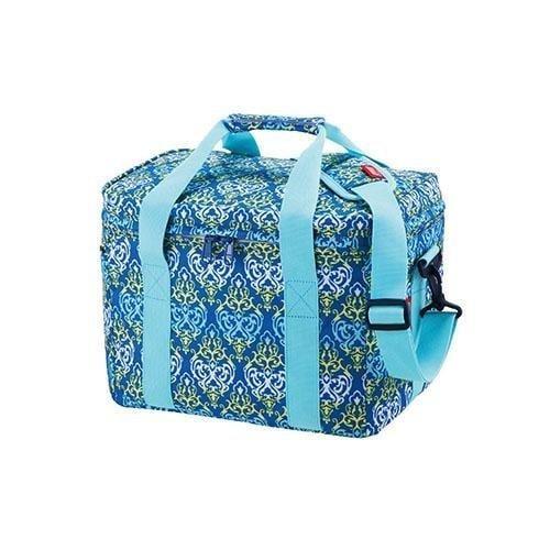 (嘉隆台中環中店)  (出清品) Coleman CM-22226M000 15L 藍葉圖騰保冷袋
