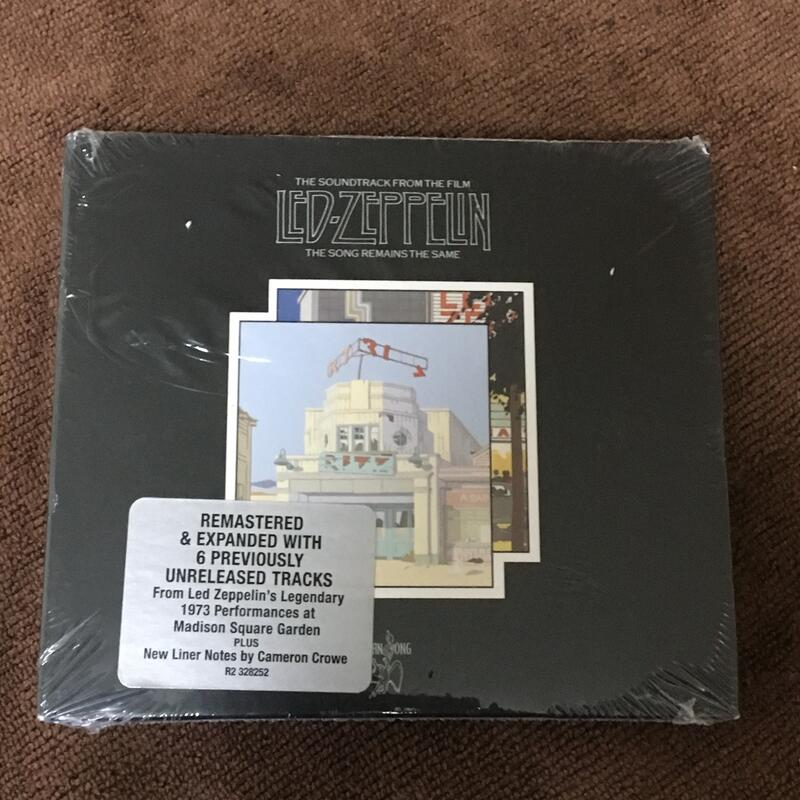 Led Zeppelin 齊柏林飛船合唱團 - The Song Remains The Same 2CD 全新進口