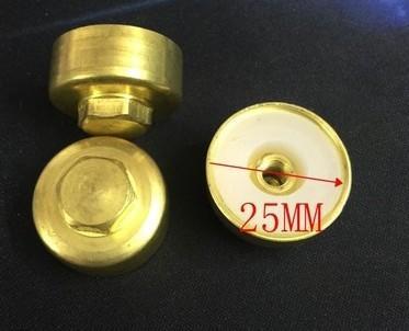 [二手拆機][含稅]【6分排汙螺母】電熱水器排污口純銅螺母墊圈螺帽塞堵頭