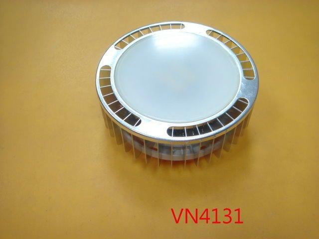 【全冠】8.5W/6000K/220V/6顆燈 白光 GX53 圓形LED吸頂燈 崁燈 投射燈 筒燈 (VN4131)