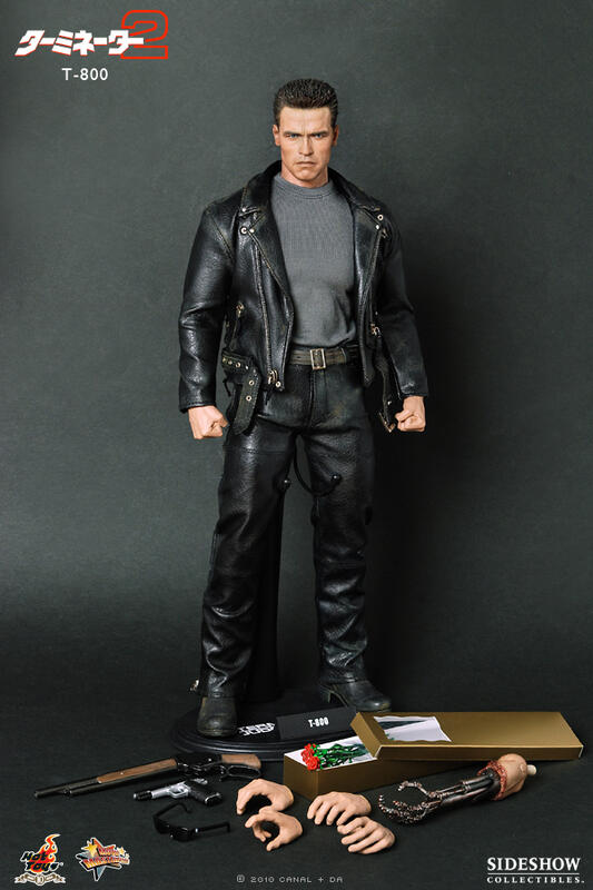 HOT TOYS MMS117 Terminator 魔鬼終結者 T800 現貨展示品