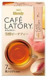 日本 AGF Blendy CAFE LOTORY 沖泡飲品 奶茶 咖啡 紅茶 白葡萄 蘋果 白桃 草莓 水果茶 歐蕾