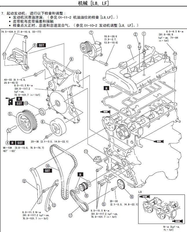MAZDA 5 馬自達5 2.0L馬5 中文維修手冊2005-2010 FORD福特i-MAX雙生車可參考
