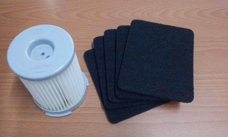 【特販中心】伊萊克斯 吸塵器 Z1665 Z1670 專用HEPA濾網 ( 可加購塵蟎吸頭ZE013C / 毛刷吸頭 )