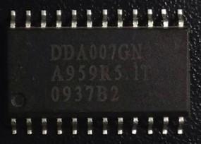 [二手拆機][含稅]拆機二手原裝 DDA007 可直拍 DDA007GN 晶片