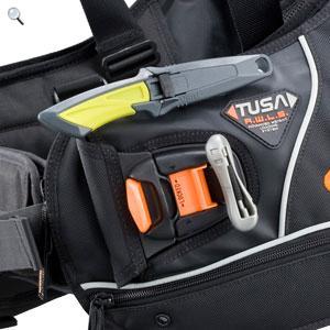 ☆° 亞潮潛水 °☆ TUSA 管夾刀 刀座 刀架 可裝在BC上 方便度提升 TC-752