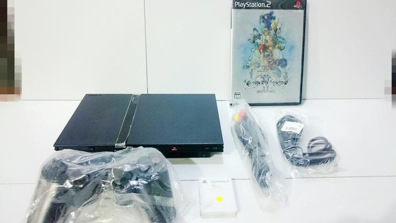 【梅花三鹿】SONY PS2 主機 升級全新無線單手把 已更換全新讀取頭 配件 薄機 Z7組 SCPH-70007 未改