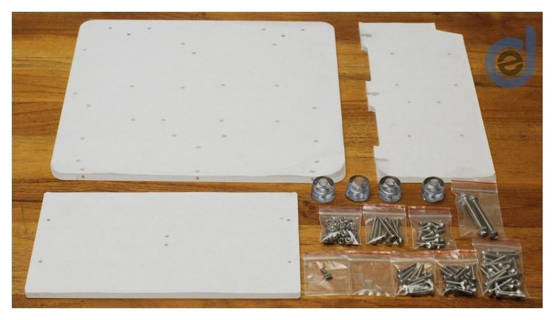 E2D DIY Cyclone PCB 電路板 雕刻機 CNC 壓克力座及螺絲包套件