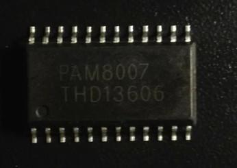 [二手拆機][含稅]拆機二手原裝 PAM8007 現貨可以直接拍