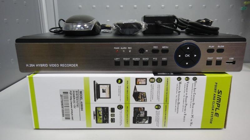 展場撤櫃 展示品 出清 五合一 DVR NVR 8路 4音 1080P  8CH 4M 5M4