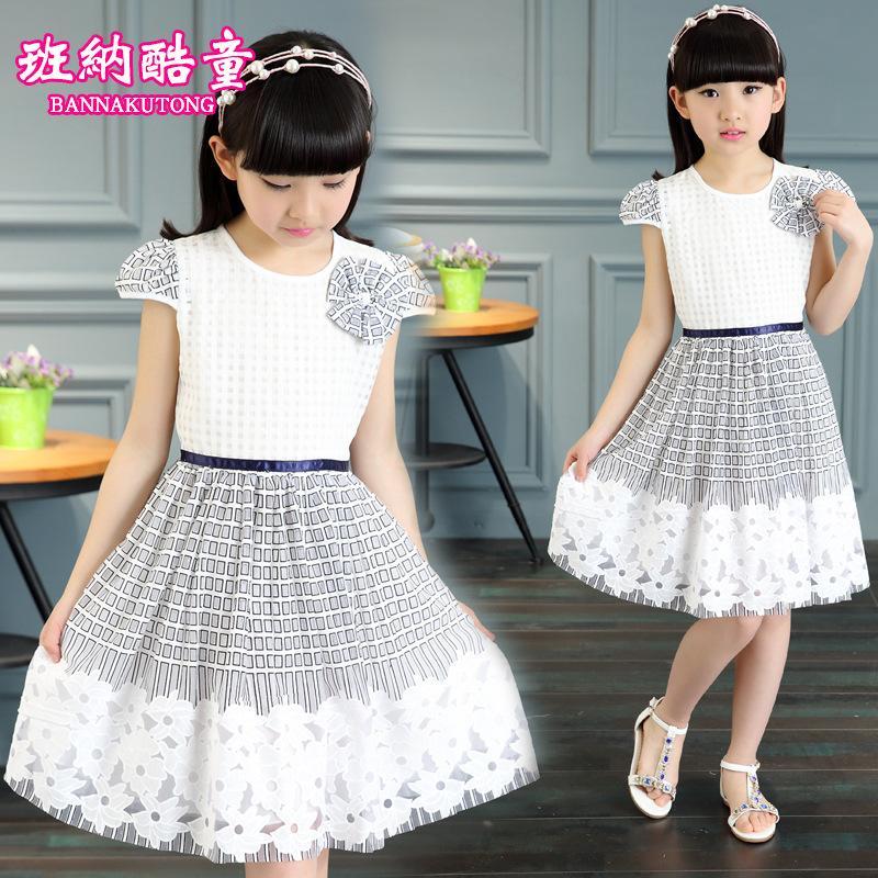 新款4女童5夏季6連衣裙7純棉8兒童裝9夏天10公主裙12歲小女孩裙子