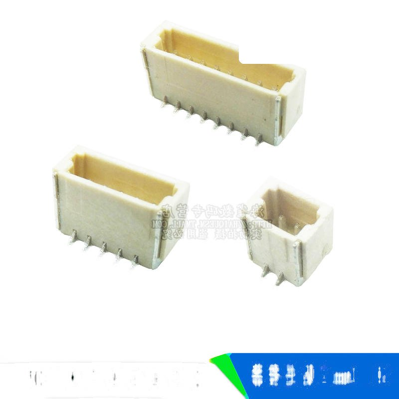 立貼 1.0MM SH1.0間距 連接器 2P/3P/4P/5P/7/8P 插座立式貼片 221-01213
