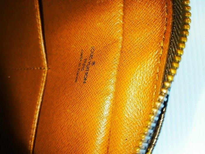 Louise Vuitton 老花 LV 手拿包 隨身包 原花真品 大手提包 方型M51845男女中性包789 1元起標