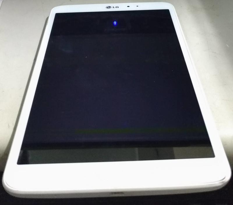 LG  LG-V500白色 平板電腦-螢幕機殼完整-不開機 (故障品)