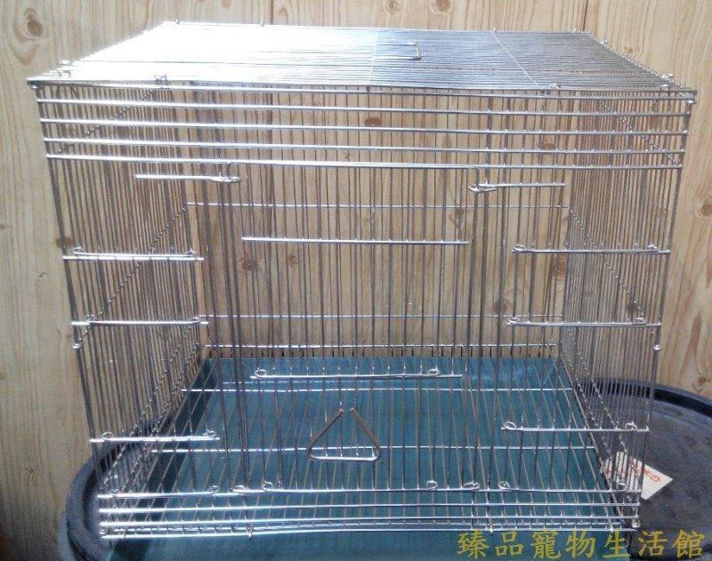 ==臻品寵物生活館==1.5尺白鐵籠.可加購白鐵底盤.開大門式樣長方形鼠籠/鳥籠.適合蜜袋鼯.花栗鼠.小飛鼠松鼠白面鼯鼠
