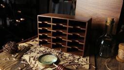 [fun magic] 木頭牌櫃 胡桃木牌櫃 撲克牌櫃 撲克牌收納櫃 撲克牌盒
