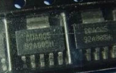 [二手拆機][含稅]DDA005 拆機二手原裝液晶電源管理晶片 SOT223-腳