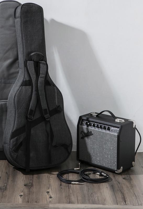 【吉他人音樂工作室】 台灣原創 guitarman 36吋41吋 原廠防水耐磨木吉他超厚軟盒限定升級換購價