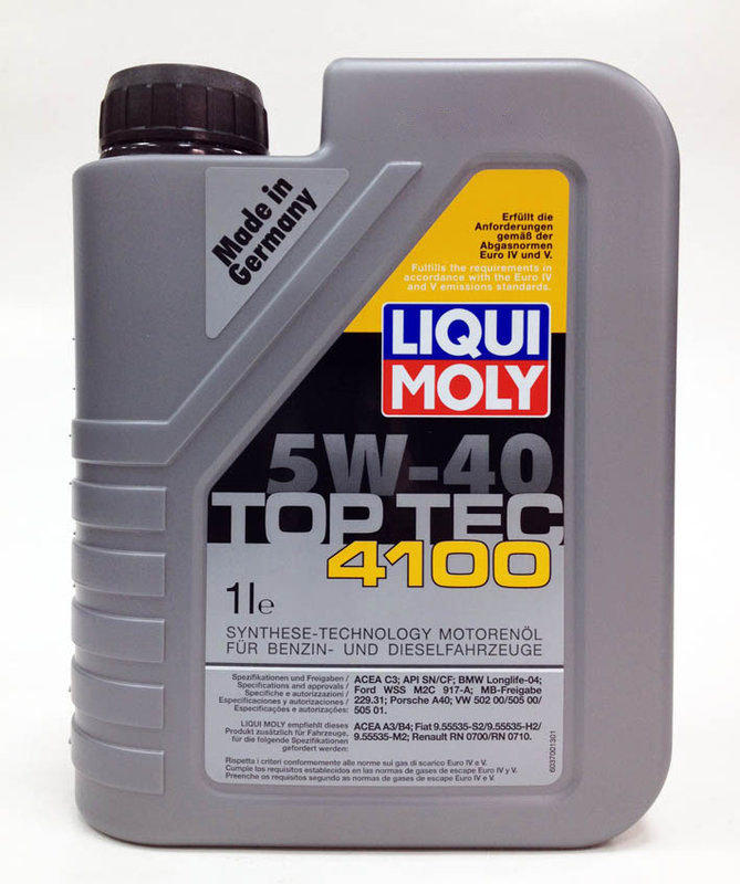 liqui moly 5w40 top tec 4100 5w 40 shell. Black Bedroom Furniture Sets. Home Design Ideas