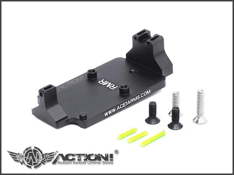 【Action!】補貨中)Ace1Arms - GLOCK系列專用RMR轉接座(黑色)