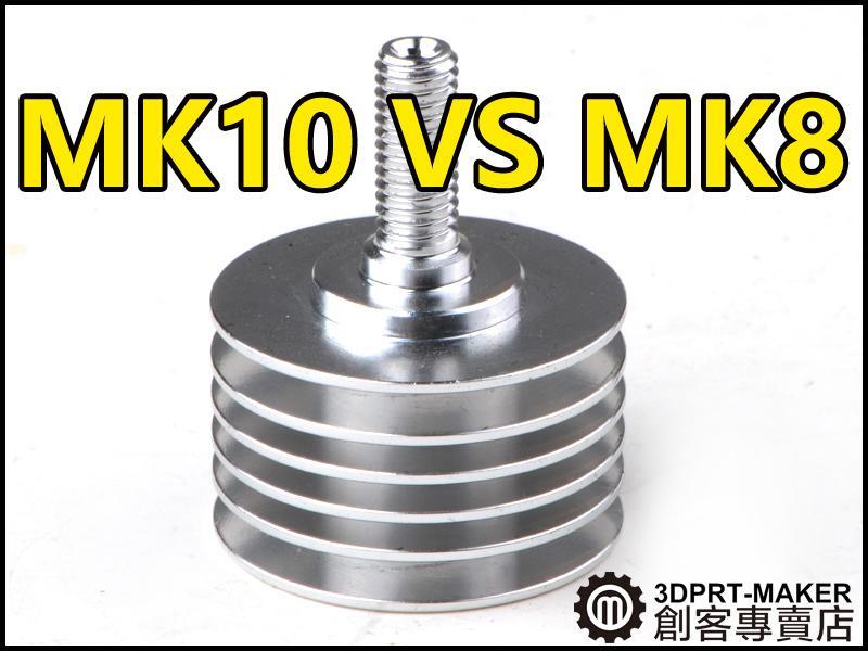 【3DPRT 專賣店】★539★MK10 散熱管 改裝MK8擠出機 D8MM喉管 M6螺紋