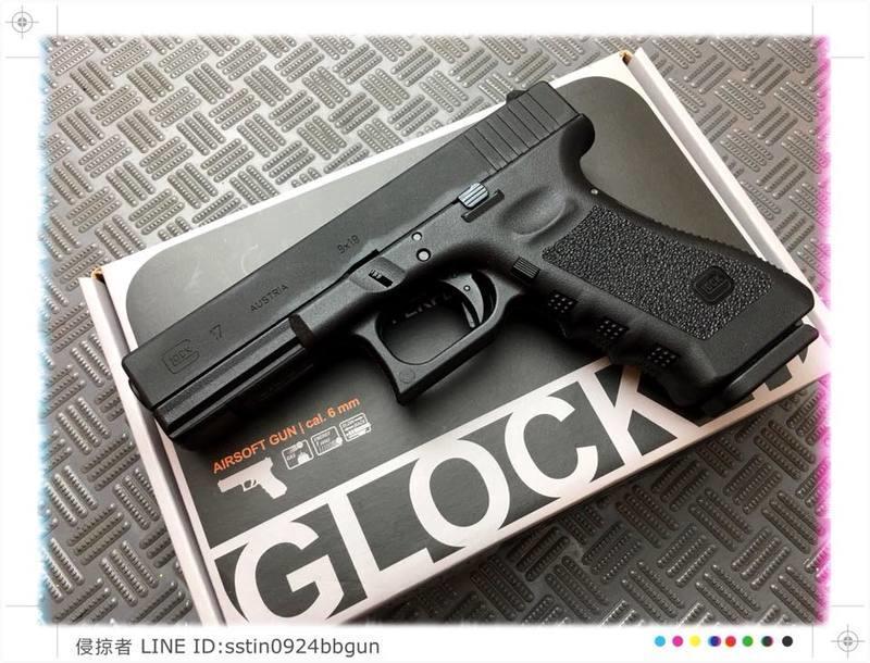 【Invaders】Umarex授權版GLOCK 17 G17 Gen 3瓦斯手槍-VFC代工-預購中-