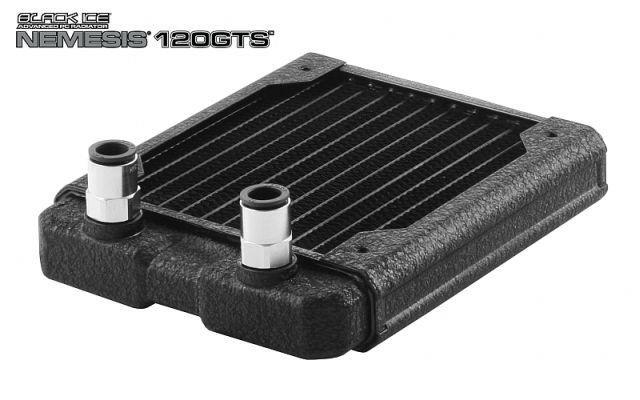 [水冷散熱]Hardwarelabs Black Ice Nemesis 120GTS 高效薄型冷排