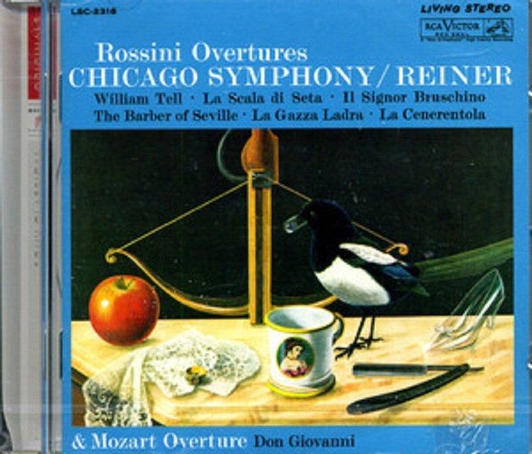 詩軒音像Rossini Overtures 羅西尼 序曲集 CD-dp070