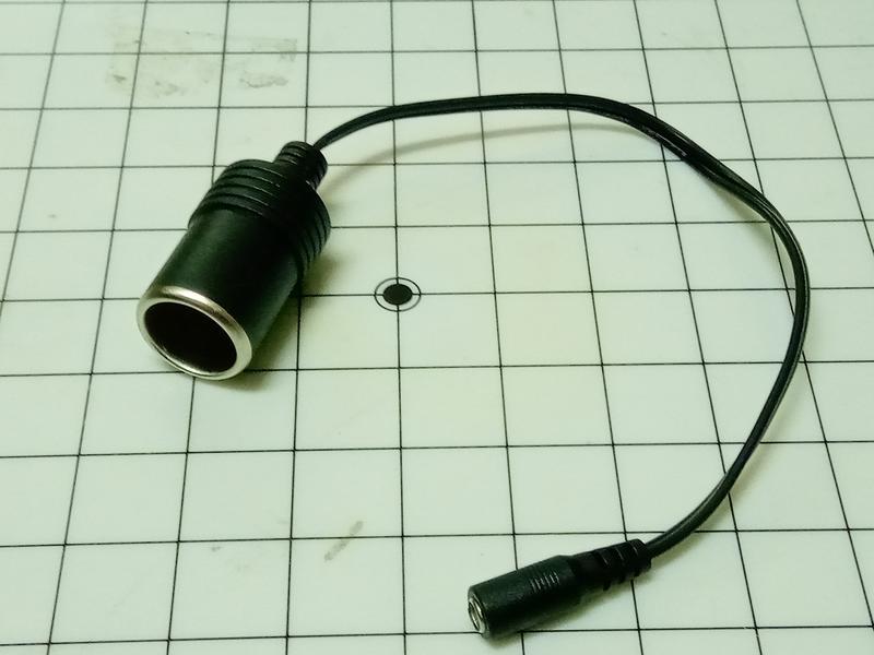 小小電工 DC5.5*2.1母頭轉點菸器 車用 點菸器 轉換器 車用電源轉換器