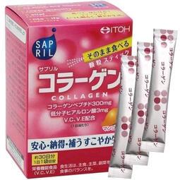 【一週出貨】日本 ITOH井藤膠原蛋白+玻尿酸粉(30包入)