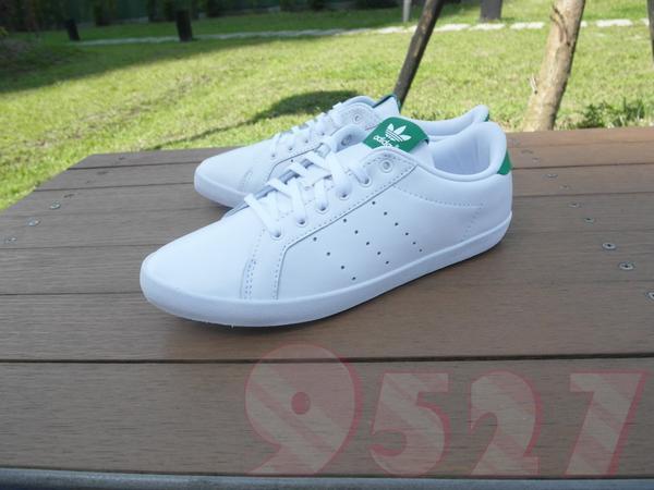 half off e65f2 f3ac9 9527 Adidas Miss Stan Smith 皮革 白綠 全白 范冰冰 女鞋 休閒鞋 復古 M19536