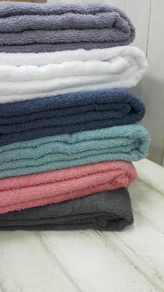 ((偉榮毛巾)) 100%純棉-【多色】美容SPA專用毛巾被=可當涼被或大浴巾