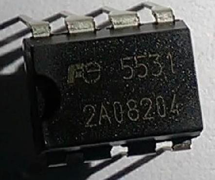 [二手拆機][含稅]原裝 FA5531 【直插】 液晶電源晶片