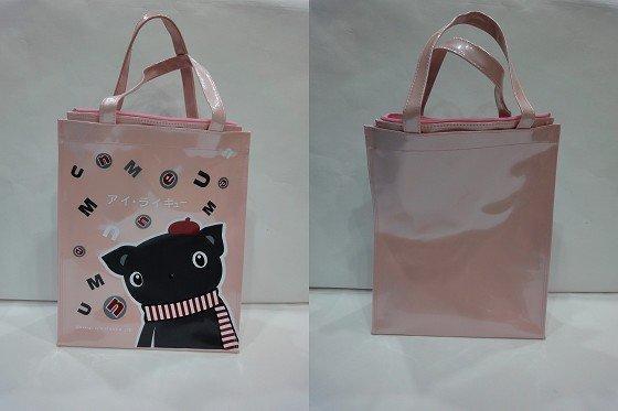 ♥Bag Party♥【UnMe書包】 MIT 1318 直式多功能提袋 超輕 耐用 防水耐髒 可愛印圖 粉紅/粉藍 特價$260