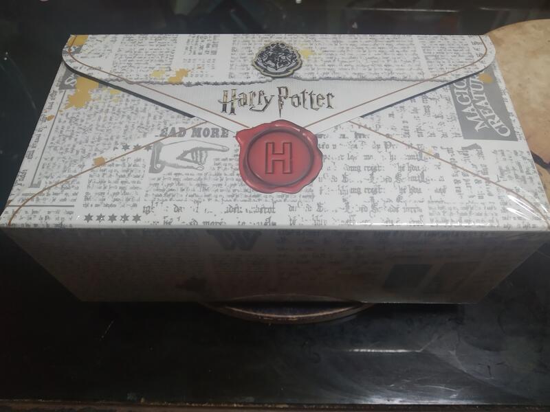 全新 盒裝 第一彈 中衛x哈利波特聯名口罩- 入學通知款30片 CSD 哈利波特 口罩 一般口罩非醫療