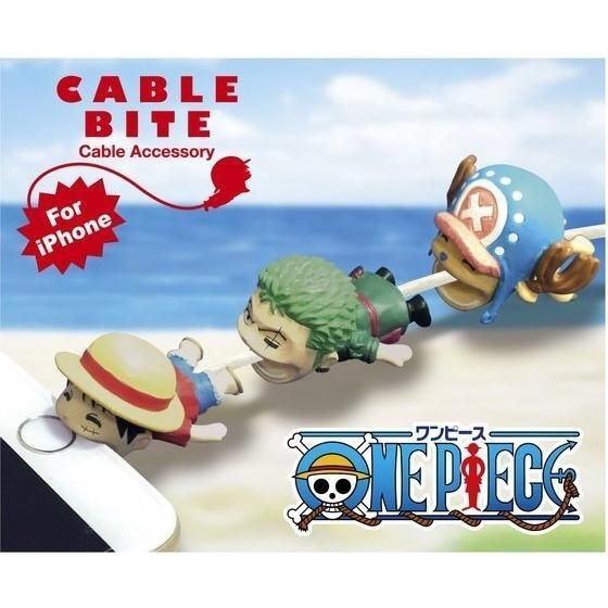 竹北kiwi玩具屋_海賊王 Cable Bite 手機充電線保護套 咬線器 iPhone專用_15000101