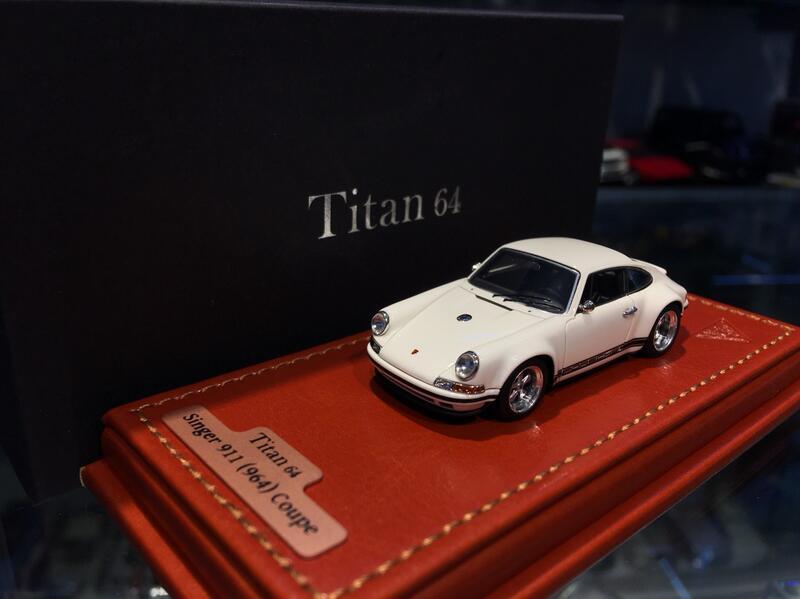 吉華科技@ 1/64 MakeUp TM001C Porsche Singer 911(964) Coupe 白色