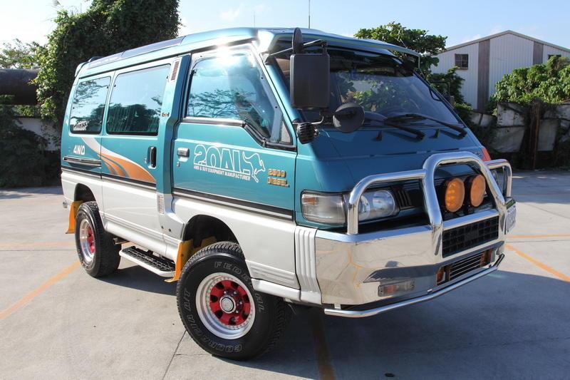 (已售出) 95年 極致版 三菱 得利卡 綠視界 (綠世界) 柴油 4WD 全功能 露營車