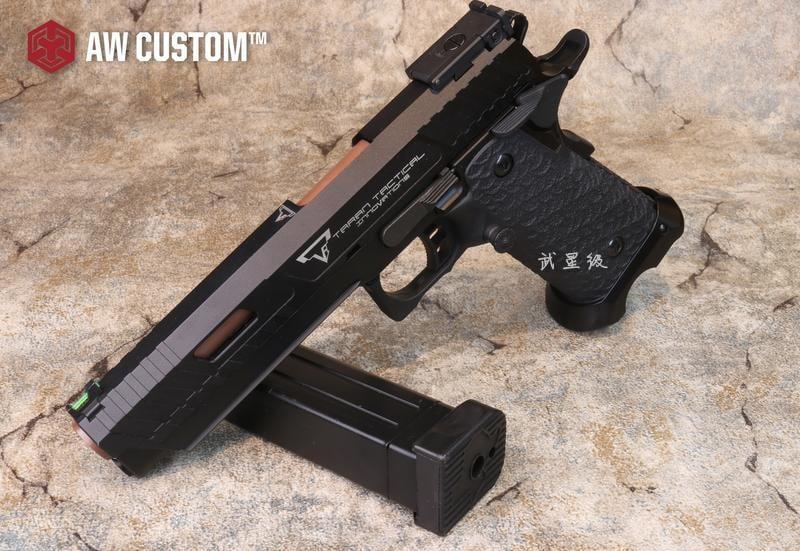 台南 武星級 AW TTI Combat Master 2011 瓦斯槍 鋼製(JOHN WICK殺神GBB捍衛任務