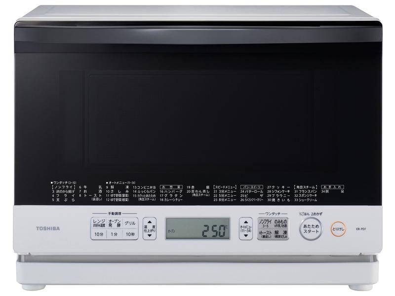 限量價 日本網路銷售排行第一 TOSHIBA 東芝ER-SD70 微波爐 蒸氣石窯 烤箱26L 水波爐 另ER-P6