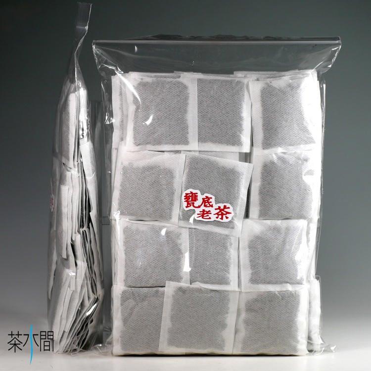 茶水間/老茶包-100包/陳年普洱茶包/熟茶/通過農藥殘留檢驗/一定瘦作者推薦