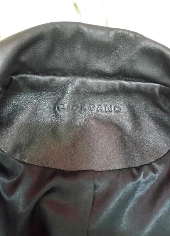 GIORDANO羊皮 皮衣編號91
