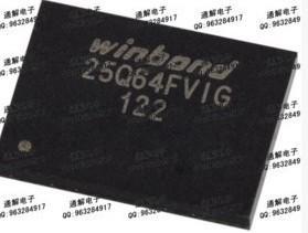 [二手拆機][含稅]拆機二手  BGA24 W25Q64FVCIG   品質保證