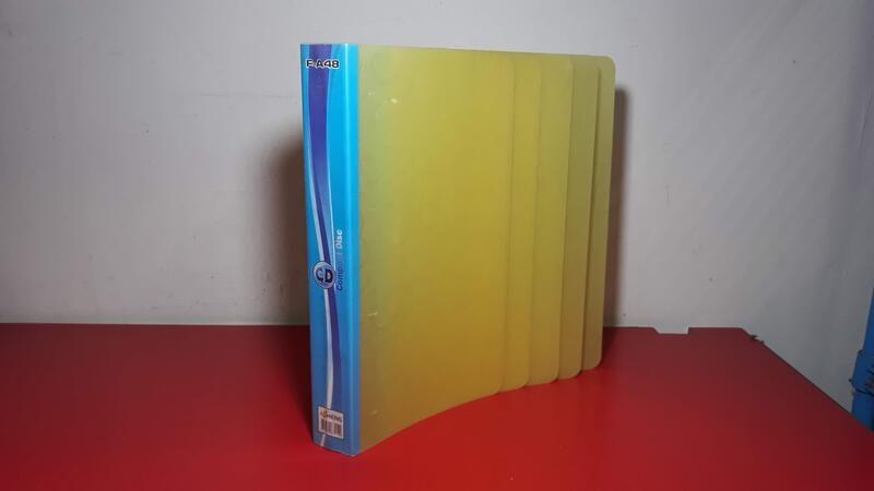 48入 CD DVD 2孔式 4孔式活頁夾