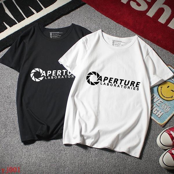 傳送門 Portal 2 光圈科技 Valve PS3游戲 周邊 短袖 T恤 衣服