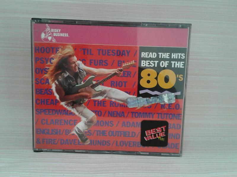 Read the Hits/Best of the 80's by Various Artists 2CD