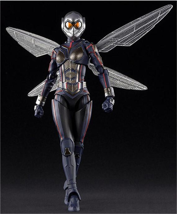 【紫色風鈴3】復仇者聯盟4 WD 黃蜂女 可動人偶 模型盒裝 港版
