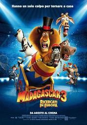 高清DVD 馬達加斯加1-3部+馬達加斯加的爆走企鵝DVD 英語/台灣國語 英/繁中字幕