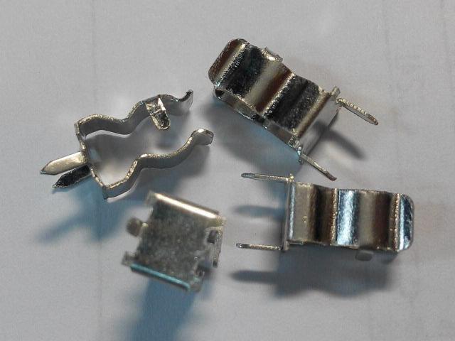 (20個一拍)  保險絲夾座 用於5*20mm保險絲管 保險絲管 保險絲夾 保險絲座